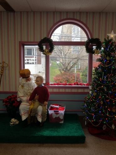 St. Nicholas Visits the Children
