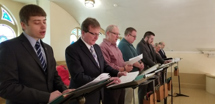Ordination-Choir